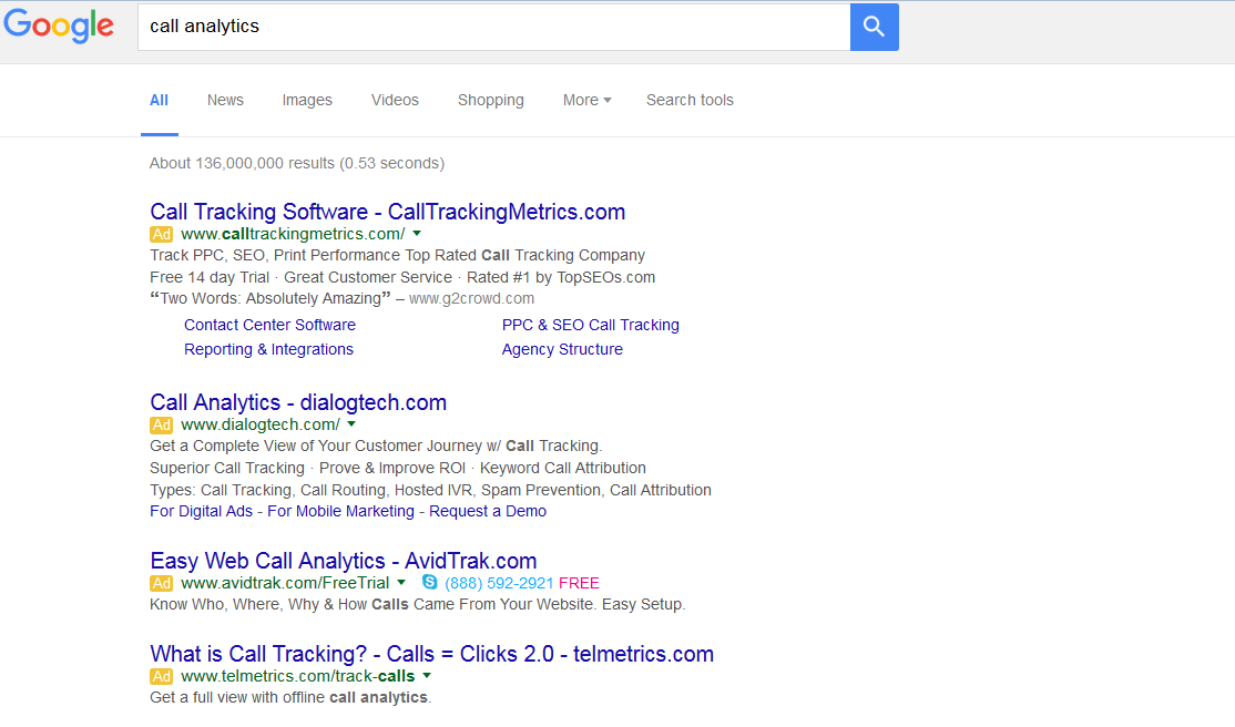 Google SERP right ads removed