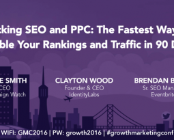 How to Hack PPC Workshop at the Growth Marketing Conference
