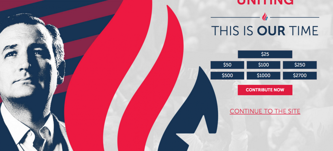 3 Republican Presidential Candidate Websites Analyzed and Dissected